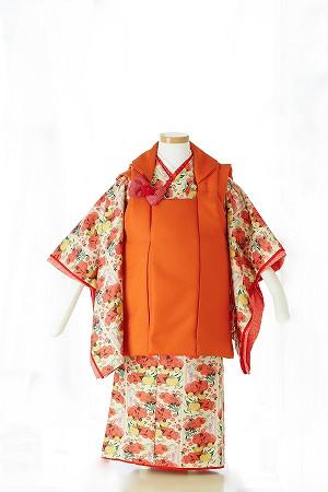 橘の姫ちゃん-アンティーク風七五三着物レンタル