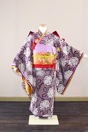 紫華-アンティーク風着物レンタル