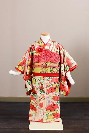 橘の姫ちゃん-アンティーク風着物レンタル