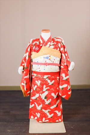 赤鶴さん-アンティーク風着物レンタル