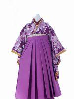 紫乙女ちゃん-アンティークな七五三着物レンタル