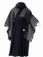 モダン家紋-アンティークな七五三着物レンタル