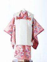 桃色吉野-アンティークな七五三着物レンタル