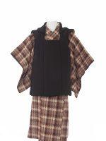 茶色織-アンティークな七五三着物レンタル